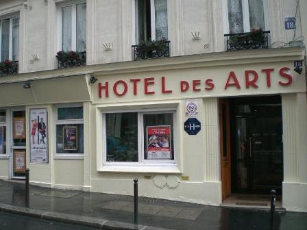 Cheap Paris Hotels: Hotel des Arts