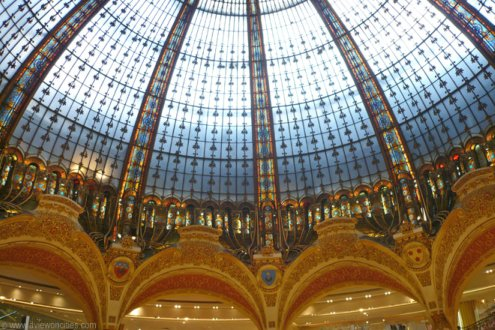 Galeries Lafayette - glass dome